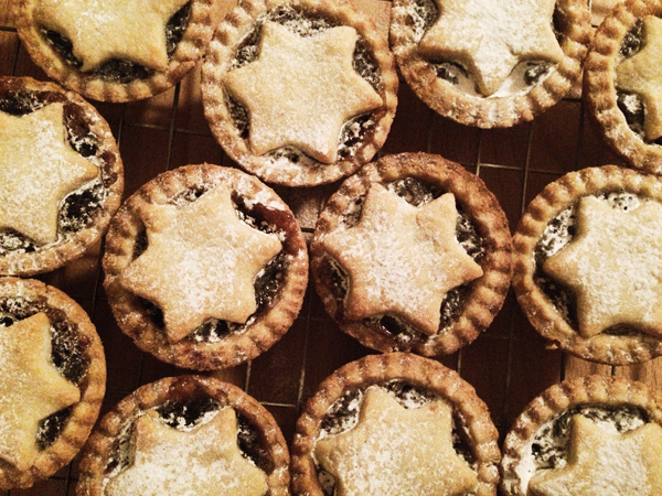 22nd December mince pies